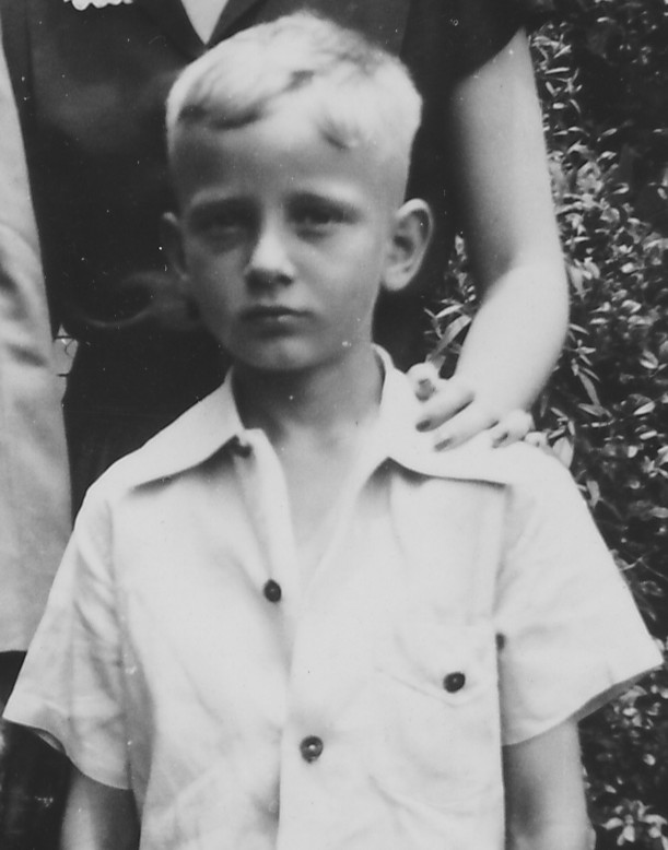 Kenneth Gage Jones about age 5