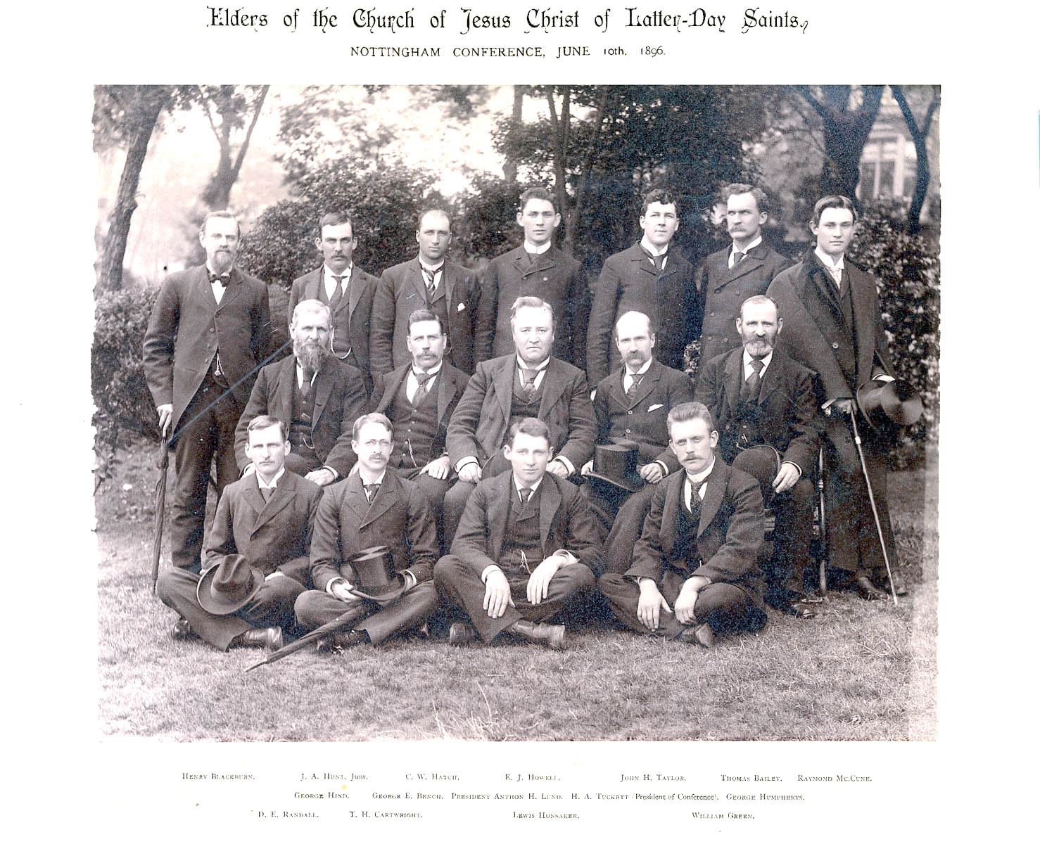 Missionary Conference 1896