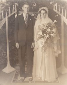 Mabel Moore and Jack Chandler Wedding