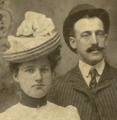 Bessie Killian and William Potts Gillespie Jr., parents of William P & Louise Gillespie