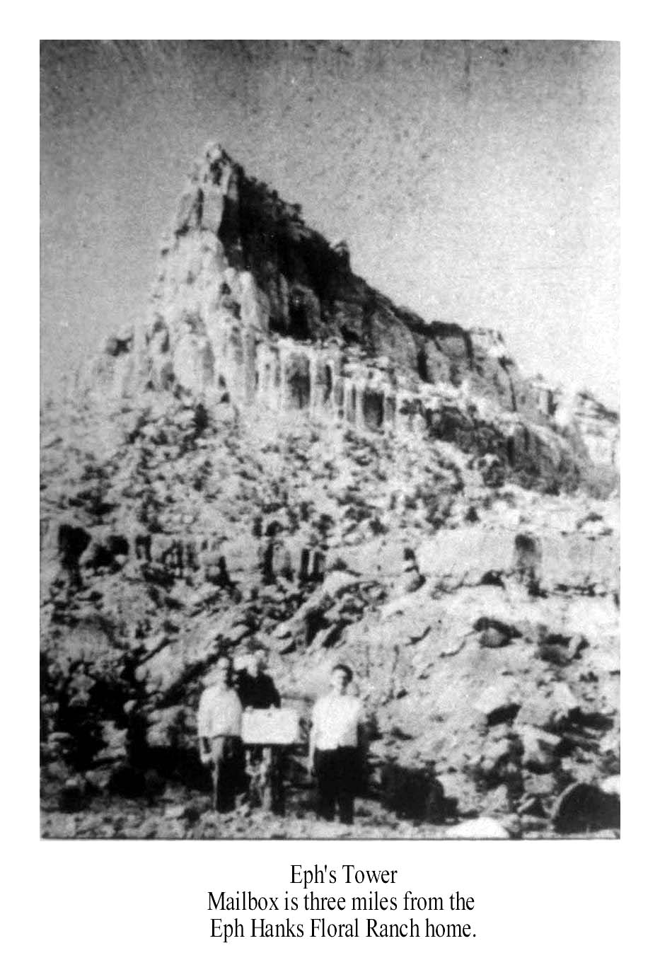 Eph's Tower. Teton Hanks Jackman Collection.