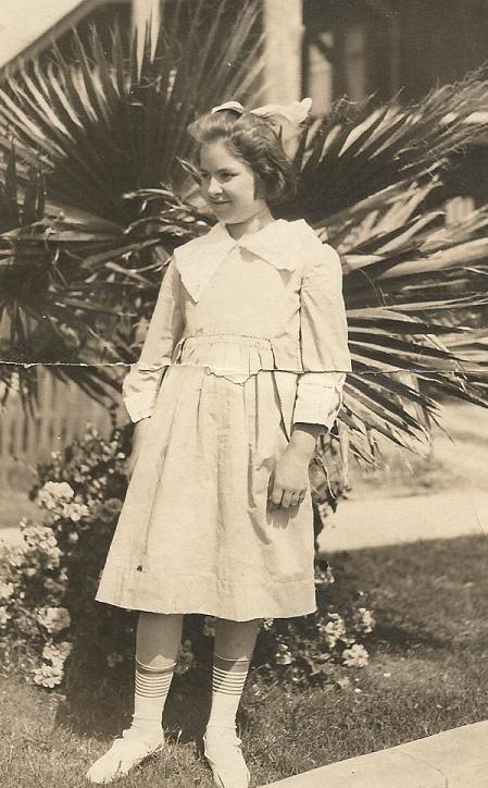 Pauline Fay McCune estimated abt 8 years old.