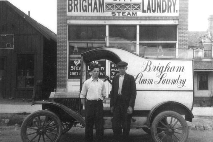 Willie Ingman and Sverre Martin Rasmussen were workers in the laundry