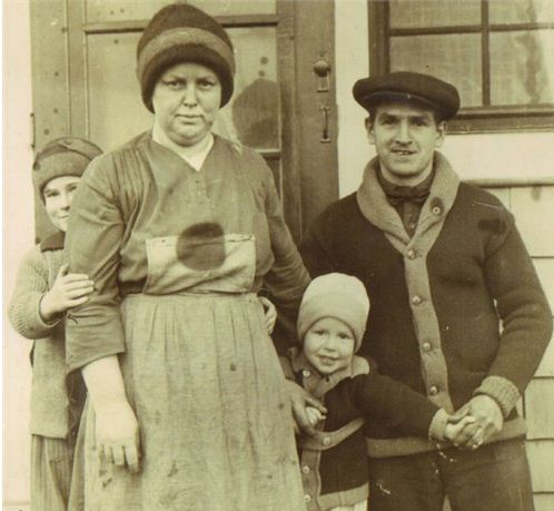 Frank Ison family about 1929
