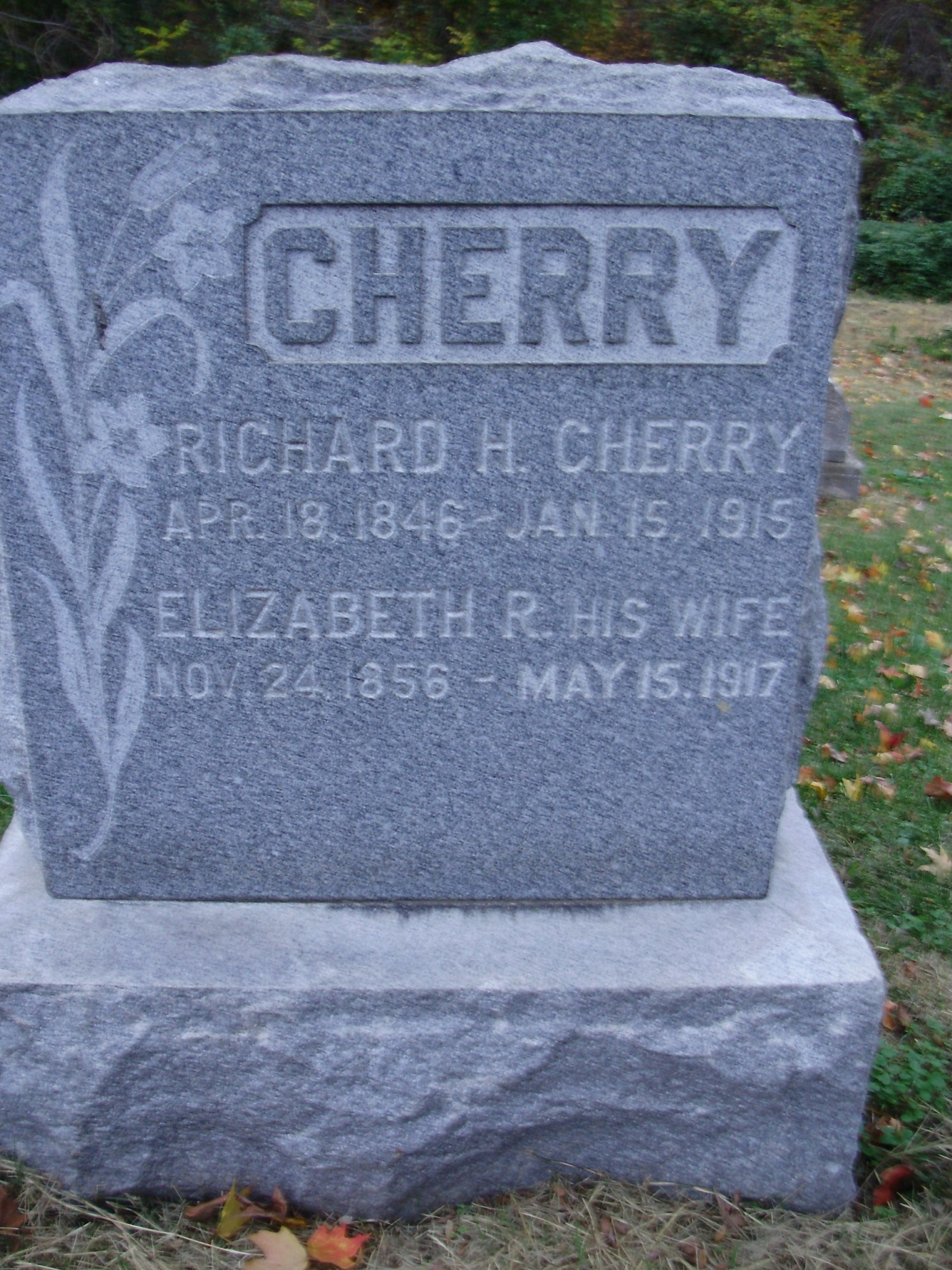 Illinois pulaski county mounds - Headstone Of Richard H Cherry Elizabeth R Reeves Cherry Beech Grove Cemetery Mounds Pulaski County Illinois Usa Photos And Stories Familysearch Org